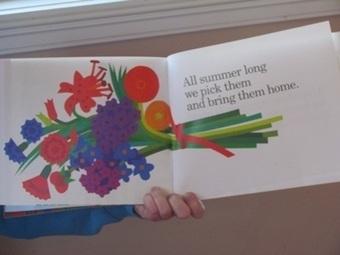 Painting a rainbow of flowers : Lois Ehlert style | Teach Preschool | Scoop.it