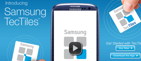 "Samsung punta al mobile payment con TecTiles | Tech Economy | L'impresa ""mobile"" 