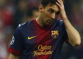 """Messi: """"Hay que remontar y, si no podemos, pensar en la temporada que viene""""   Europa y su fútbol actual   Scoop.it"""