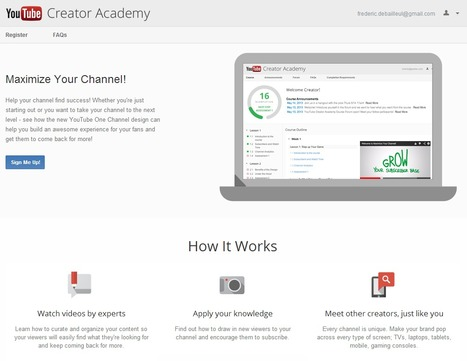 YouTube Creator Academy - Course | Time to Learn | Scoop.it