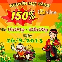 Game ionline khuyến mãi 150% nạp card ngày 26/8 | Game Mobile Hot | Scoop.it