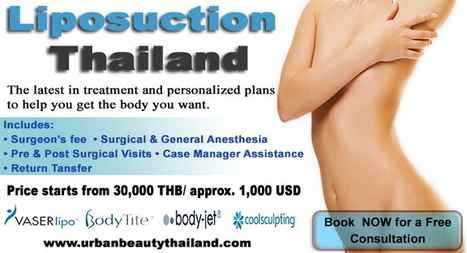 BEST PRICE VASER LIPOSUCTION IN THAILAND - Urban Beauty Thailand | CoolSculpting Zeltiq LOWEST Price Bangkok, Thailand for Sexier You - Liposuction, Vaser Lipo, Vaser Hi-def, Body Tightening Thailand | Scoop.it