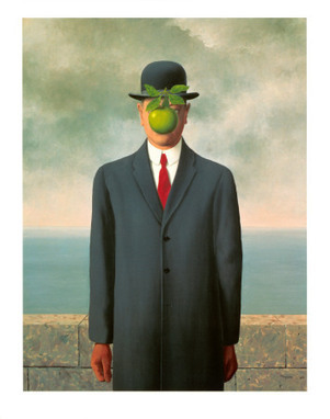 The Son of Man, 1964 | Rene Magritte | Magritte | Scoop.it