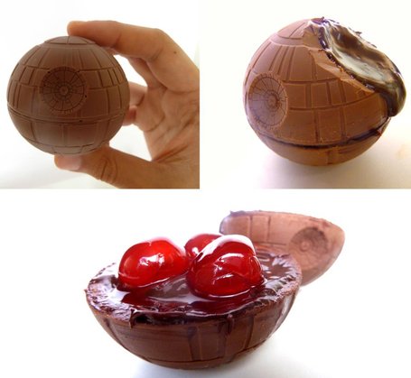 Savor The Force With Death Star Chocolate Covered Cherries | Digital-News on Scoop.it today | Scoop.it
