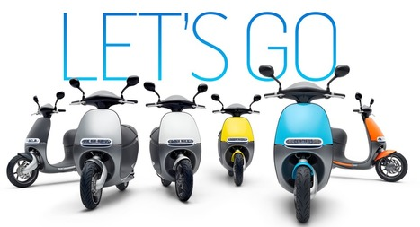 Gogoro to bring electric scooters to European cities | Green Innovation | Scoop.it