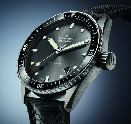 Blancpain : la Fifty Fathoms Bathyscaphe arrive en boutique | Montres et mktg | Scoop.it