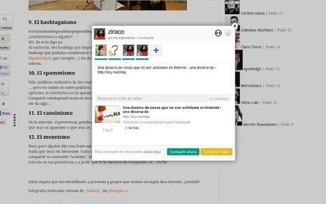 Una docena de extensiones de Google Chrome para Social Media - una docena de | ComunicaFarma | Scoop.it