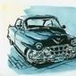 Una Chevrolet verde | dessin | Scoop.it