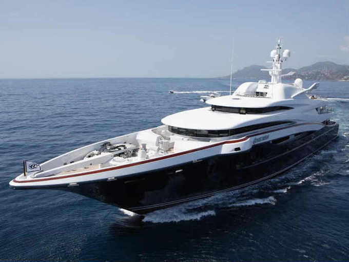 M/Y Anastasia, the largest superyacht ever to be displayed at the Singapore Yacht Show