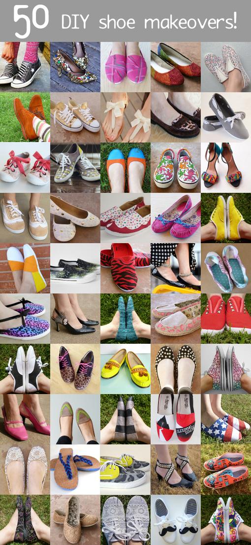 50 modi per personalizzare le scarpe