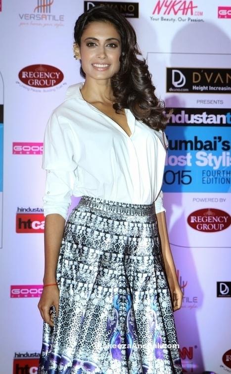Sarah Jane Dias in White Shirt and Skirt by Falguni & Shane Peacock | Indian Fashion Updates | Scoop.it