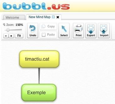 Crear mapes conceptuals a la xarxa | timactiu - Recursos educatius | Educació infantil | Scoop.it