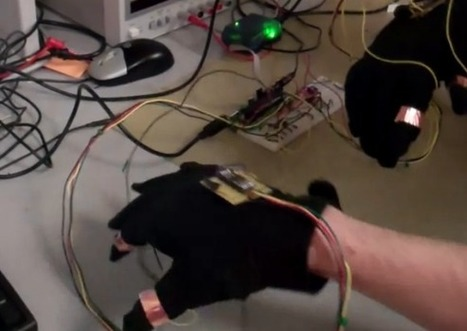 Virtual chess uses glove controllers | avatarlife | Scoop.it