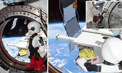Kirobo becomes the first robot to ever speak in space | Computer Literacy | Scoop.it