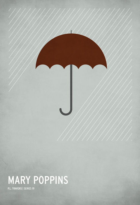 Hyper-minimalist posters of the classic children's stories | photoes | Scoop.it