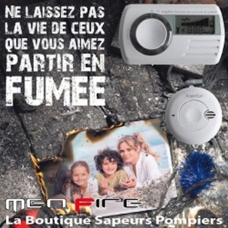 Détecteur de fumée obligatoire pour le 8 mars 2015 - AllôLesPompiers | Les Sapeurs-Pompiers ! | Scoop.it