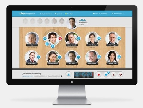 ÜberConference - Free Visual Conference Calls   Great Marketing Info & Ideas   Scoop.it