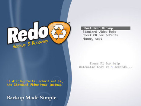 Simplest open source backup and recovery solution – Redo Backup and Recovery | The World of Open | Scoop.it