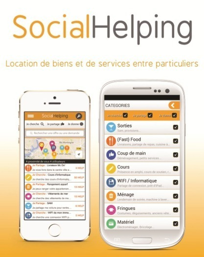 Social Helping : l'application de consommation ... | consommation collaborative | Scoop.it