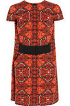 Alexander McQueen | Printed wool-crepe dress | .COM | Fashion in the City | Scoop.it