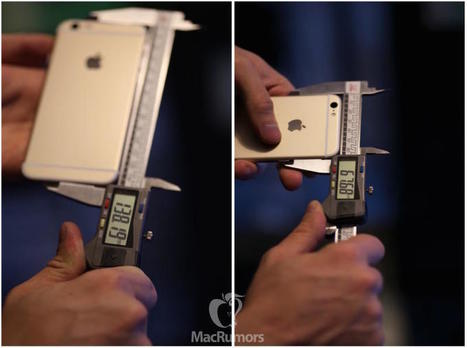 Leaked Photos of the Rumored iPhone 6s Prove It Will Be Slightly Larger and Thicker Than the iPhone 6 | Alchemy of Business, Life & Technology | Scoop.it