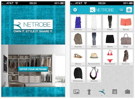 Curate Your Closet: 5 Fashion Curation Apps To Organize Your Wardrobe | Social on the GO!!! | Scoop.it