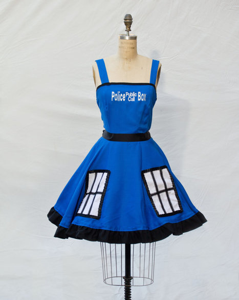 Doctor Who Tardis Retro Style Dress | GeekGasm | Scoop.it