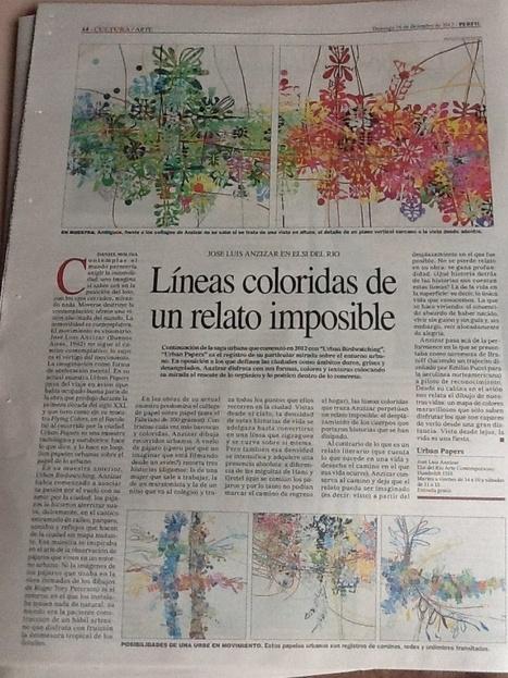URBAN PAPERS en Diario PERFIL, por Daniel Molina   ANZIZAR, Artista Visual Artist   Scoop.it