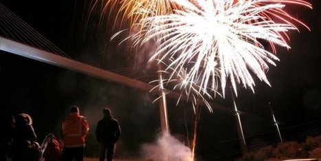 Viaduc de Millau : un grand feu d'artifice pour fêter les 10 ans de l'ouvrage   L'info tourisme en Aveyron   Scoop.it
