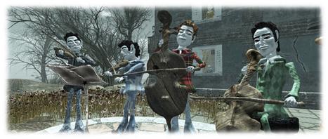 Cica's beautiful Strings and stories in Second Life | Mundos Virtuales, Educacion Conectada y Aprendizaje de Lenguas | Scoop.it