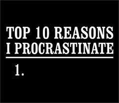 Five Great Things About Procrastination | TechCrunch | au cul du c@mion | Scoop.it