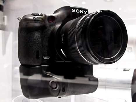 Sony shows A700 successor at CES 2011 | Photography Gear News | Scoop.it