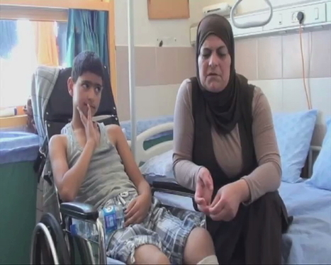 Palestinian boy paralyzed by Israeli bullet expects no justice   up2-21   Scoop.it