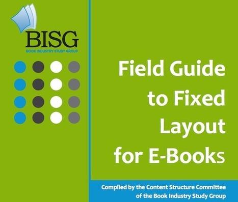 Le Book Industry Study Group met à jour son guide sur les ebooks | Livre et numérique | Scoop.it