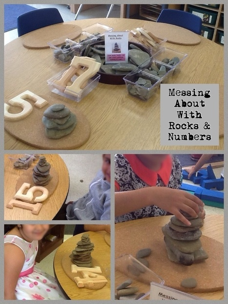 Messing About With Rocks & Numbers #PeelFDKMath | Reggio Inspired Learning | Scoop.it