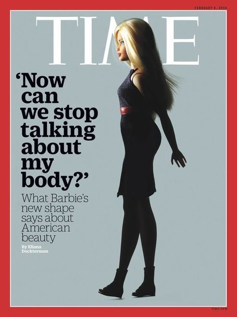Barbie finally becomes a real woman – with a more realistic figure | Language and Gender | Scoop.it