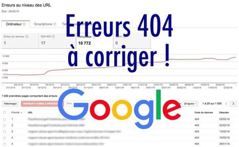 Supprimer les erreurs 404 listées dans Search Console | Référencement | Scoop.it