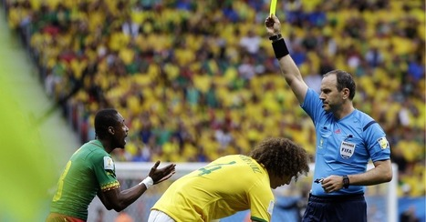 Brazil's High Temperatures Take a Toll on World Cup Refs   World Cup Video News   Scoop.it