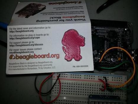 Twitter / pdp7: 3D printed Boris by @Printrbot ... | Raspberry Pi | Scoop.it