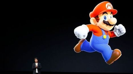 Nintendo shares rise on Super Mario iPhone game date - BBC News | Business: Year 1 | Scoop.it