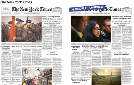 Here's What Happens When The Internet Decides A Newspaper's Front Page | New Journalism | Scoop.it
