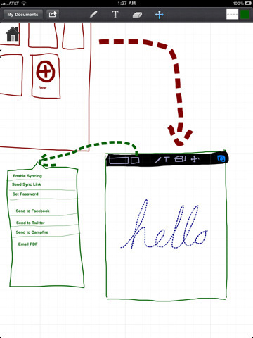 SyncSpace - a drawing tool for iPad | Digital Presentations in Education | Scoop.it
