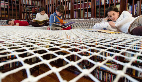 Using nets to recapture library patrons | Libraries | Scoop.it