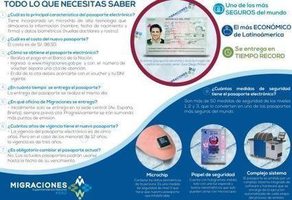 Migraciones comenzó a emitir los primeros pasaportes electrónicos | Biometría | Scoop.it