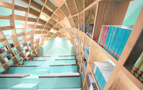 This Reading Nook Wraps You In A Glorious Cocoon Of Books | Ebook and Publishing | Scoop.it