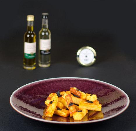 Polenta grillée au Parmesan et à la truffe | The Voice of Cheese | Scoop.it