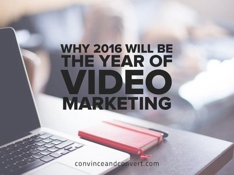 Why 2016 Will Be the Year of Video Marketing | SoShake | Scoop.it