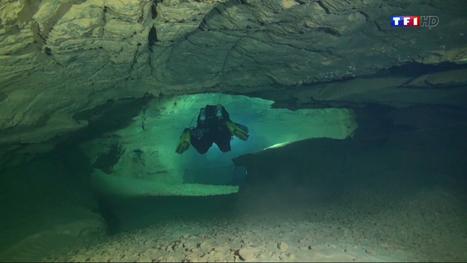 Le monde mystérieux de la plongée souterraine - TF1 | Le monde souterrain, espace d'innovation | Scoop.it