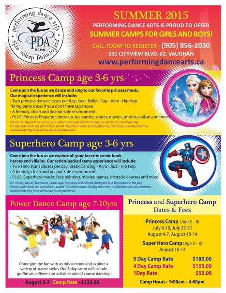 Princess & Super Hero Camps | Studio Dance Arts | Scoop.it