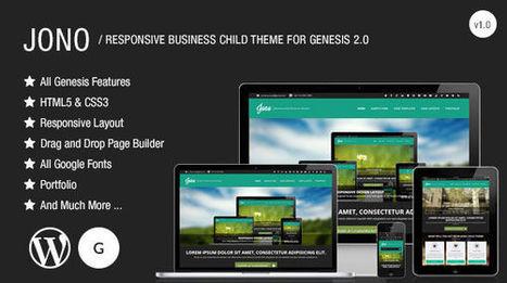 Jono – Responsive Business Child Theme for Genesis Framework - Wpthemetuts | Latest Wordpress Themes | Scoop.it